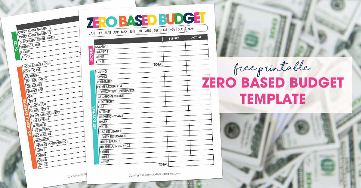 Zero Based Budget Template Best Of Zero Based Bud